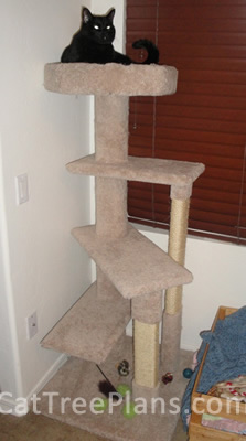 Cat Tree Plans Customer 120