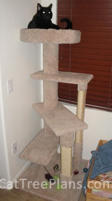 Cat Tree Plans Customer 120