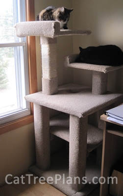 Cat Tree Plans Customer 124