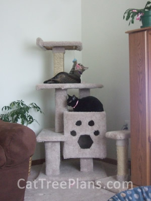 Cat Tree Plans Customer 128