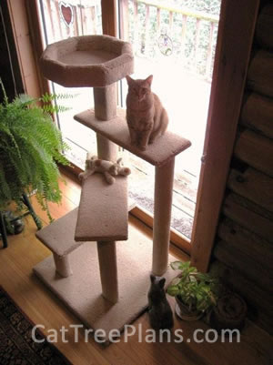 Cat Tree Plans Customer 135