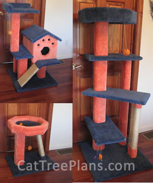Cat Tree Plans Customer 139