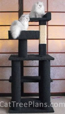 Cat Tree Plans Customer 146
